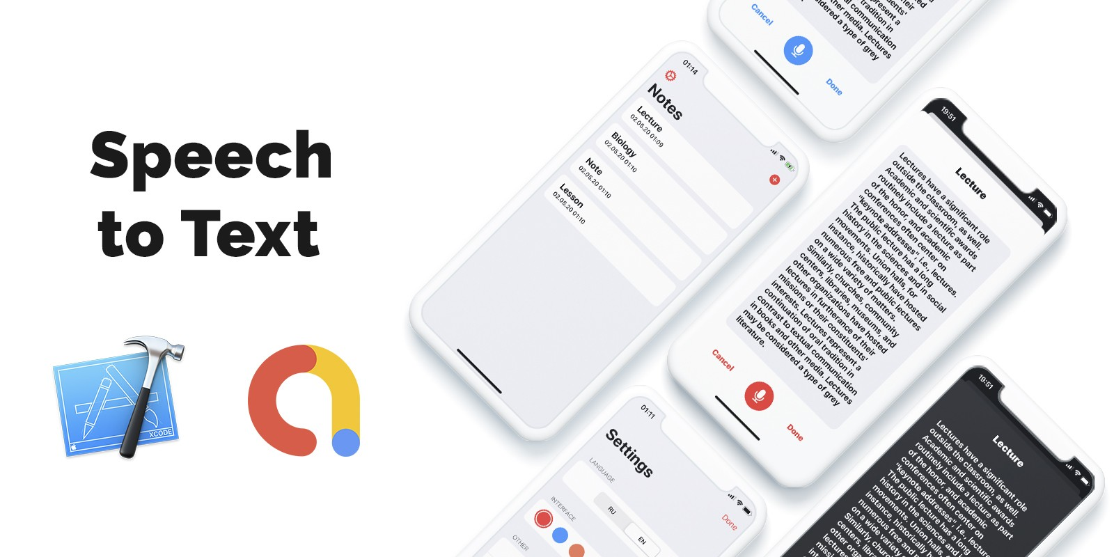 Speech To Text - iOS Source Code