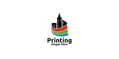 City Printing Company Logo Design
