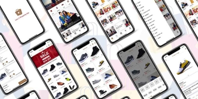 Ionic 5 Shopping Full App Template