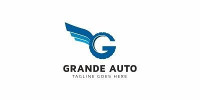 Auto G Letter Logo
