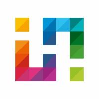 H Letter Colorful Logo