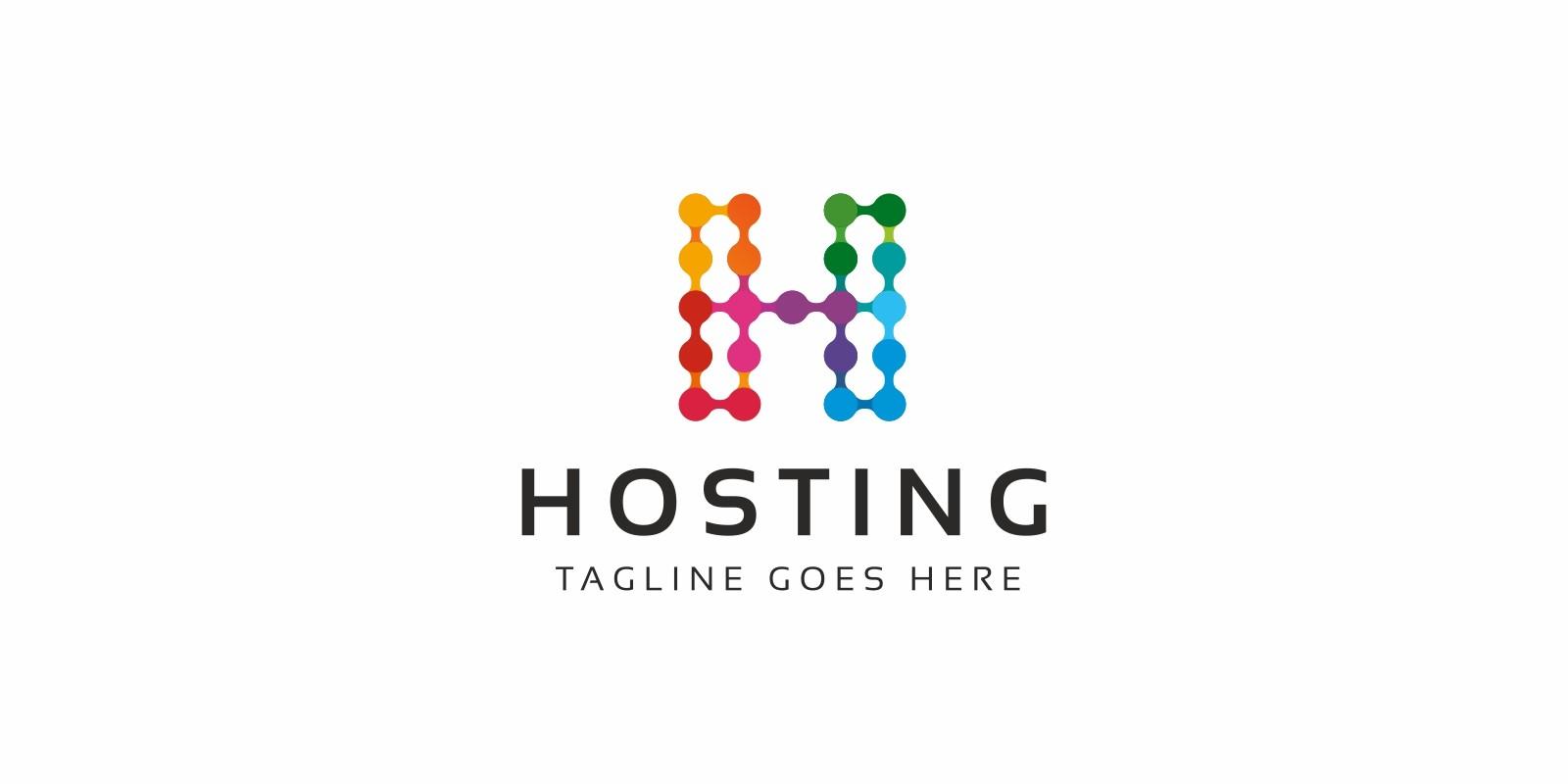 Hosting H Letter Logo