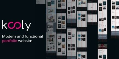 Kooly - Creative Portfolio Agency WordPress Theme