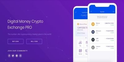 Digital Money Crypto Exchange PRO