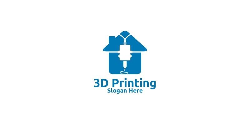 Home 3D Printing Company Logo Design 51