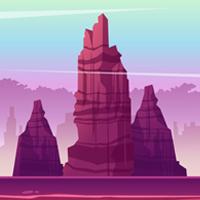 Game Background Mountain