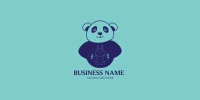 Baby Panda Logo