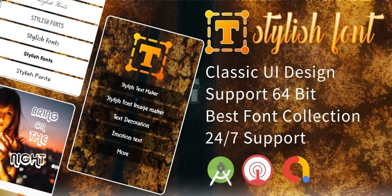 Stylish Fancy Fonts - Android Source code
