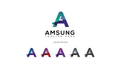 Amsung Letter A Logo