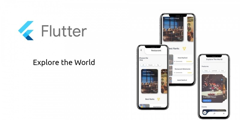 Explore The World - Flutter UI Template