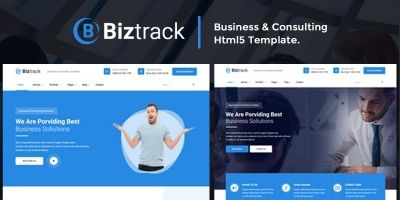 Biztrack - Business HTML5 Template