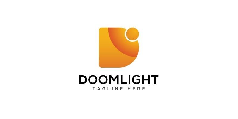 Doomlight D letter Logo