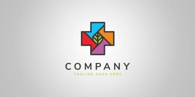 Eco Pharmacy Logo Template