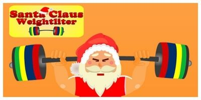 Santa Claus Weightlifter - Unity Project