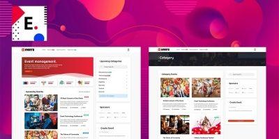 Evanto - Event HTML Website Template