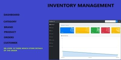 Inventory Management PHP Codeigniter