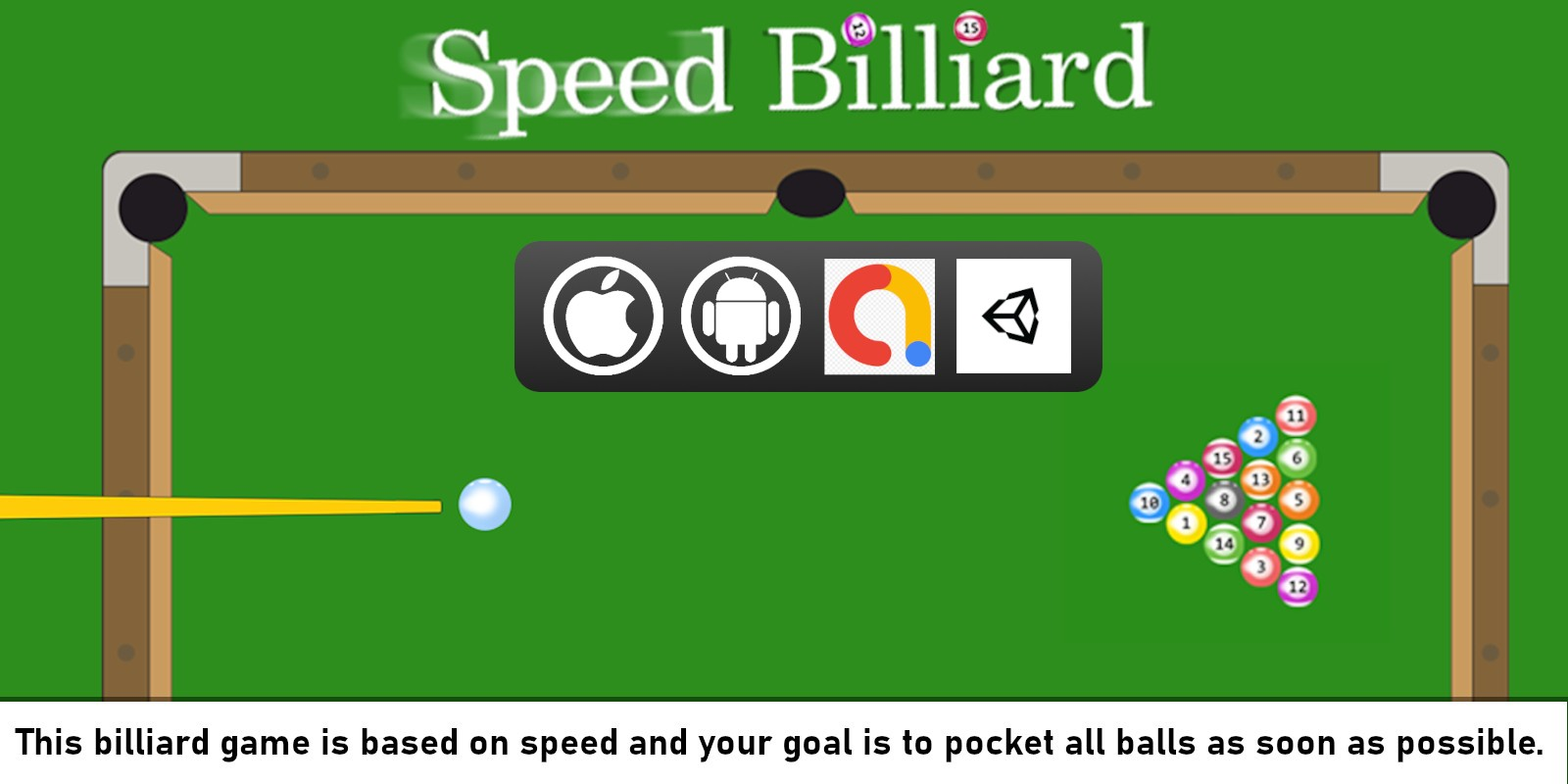 Speed Billiard - Unity Project