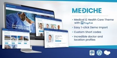 Mediche Health Care and Medical WordPress Theme
