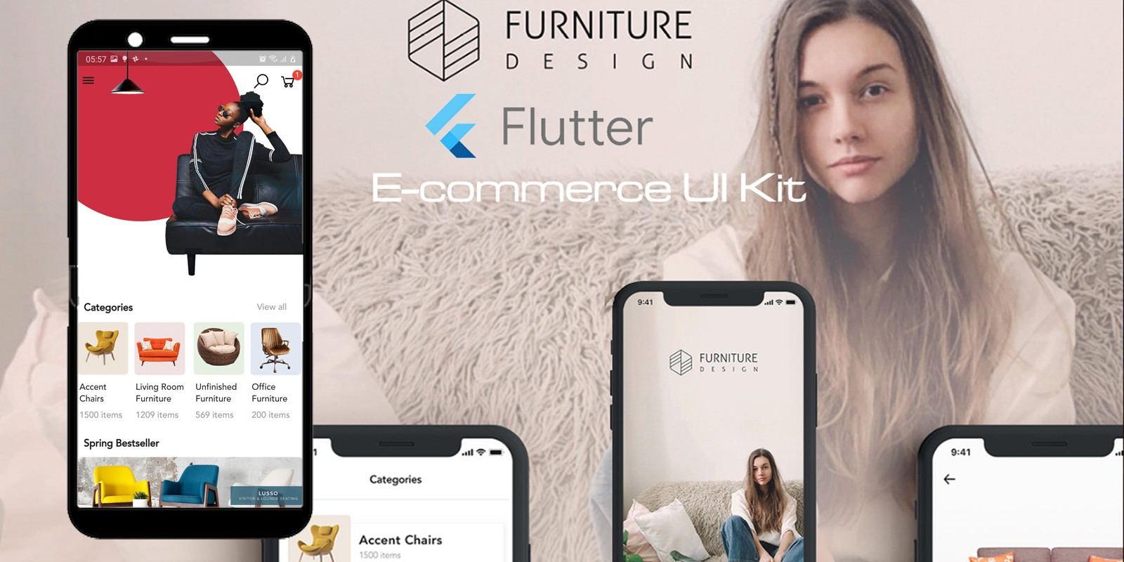 E-Commerce UI Kit Flutter