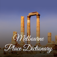 Melbourne Place Dictionary - iOS Source Code