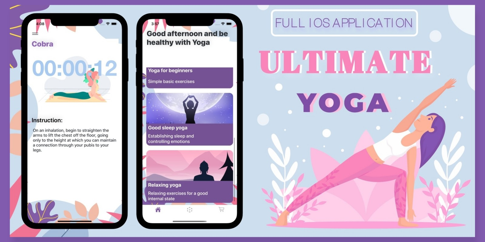 Ultimate yoga - Full iOS Application