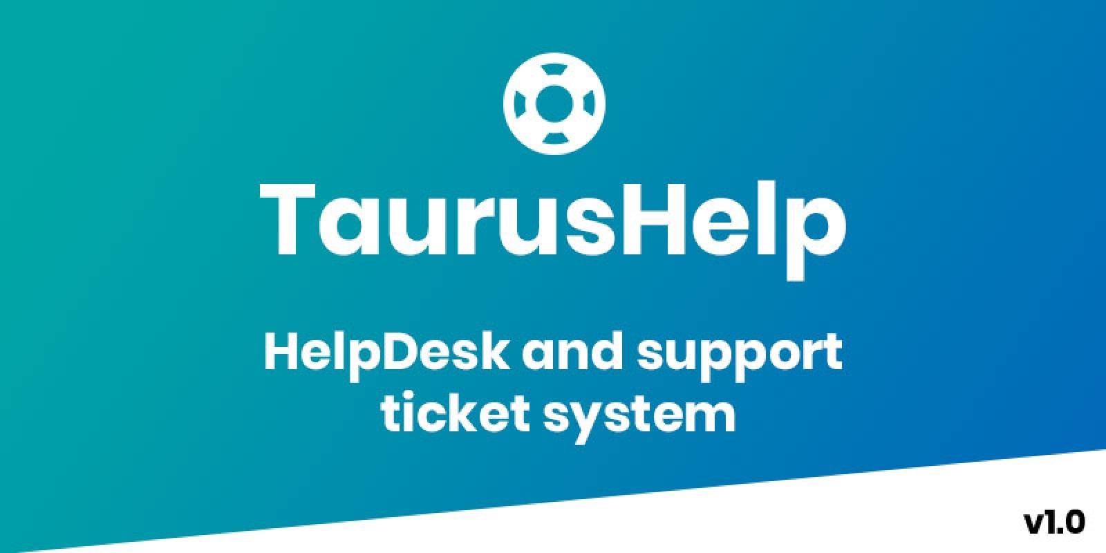 TaurusHelp - Helpdesk Ticketing System