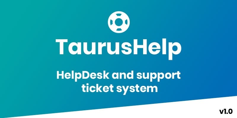 TaurusHelp - Helpdesk Ticketing System