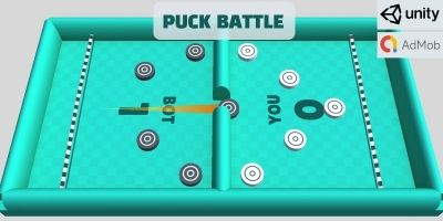 Puck Battle – Complete Unity Game