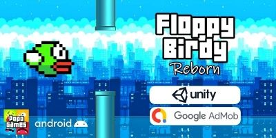 Floppy Birdy Reborn Unity Game