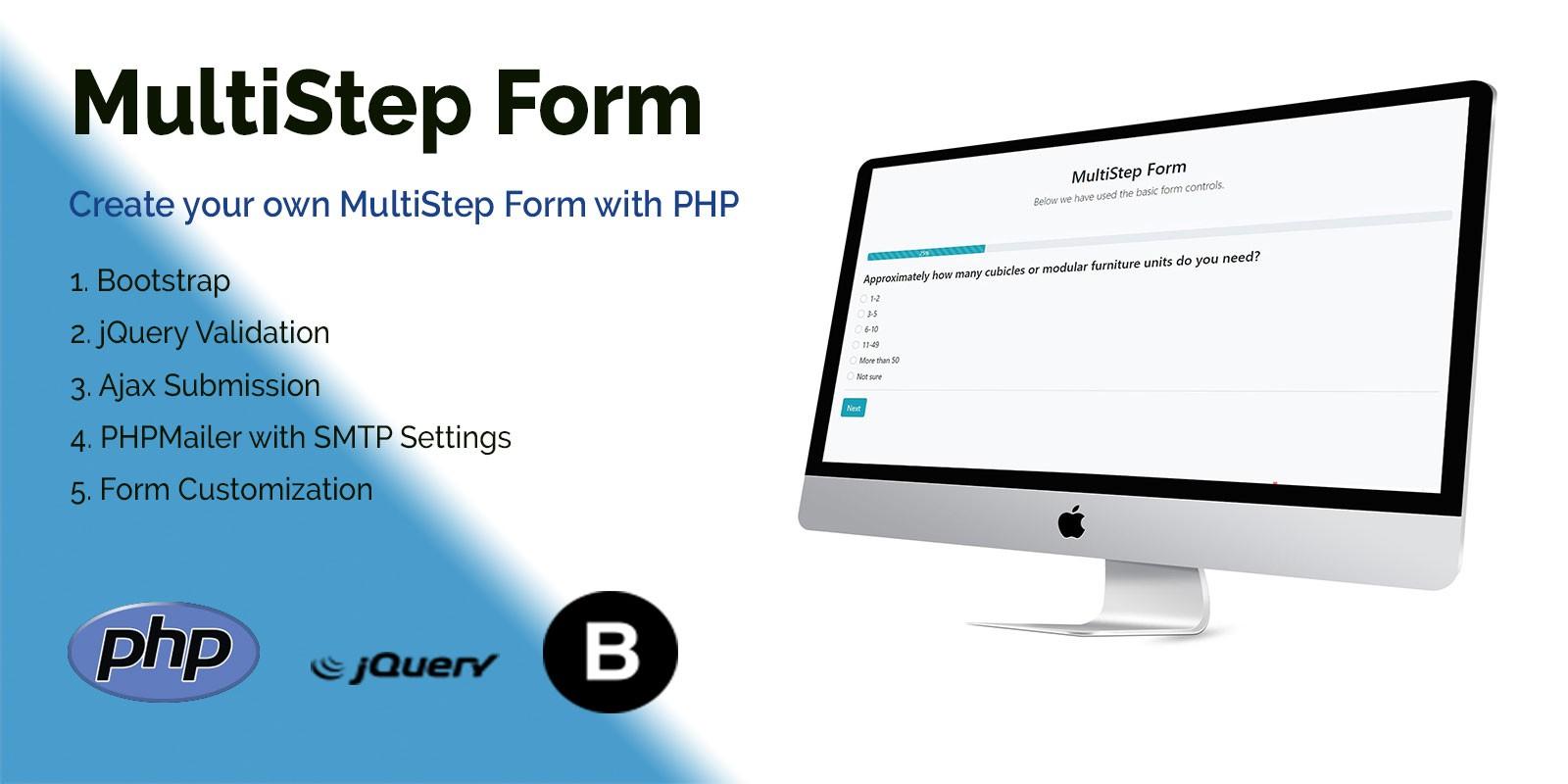 StepForm - MultiStep PHP Form
