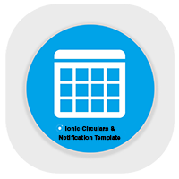 Circulars And Notification Template Ionic 4