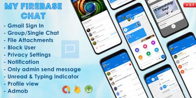 My Firebase Chat - Android Source Code