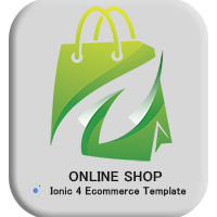 Ecommerce Ionic 4 Template