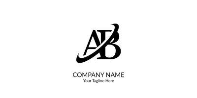 Letter AB Logo