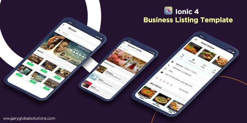 B2B Marketplace Listing - Ionic 4 Theme