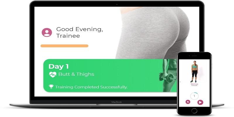 30 Days Butt Challenge - Ionic 4 App Template