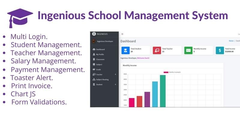 Ingenious School Management System 2