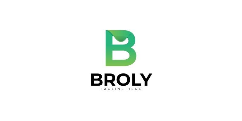 Broly Letter B Logo