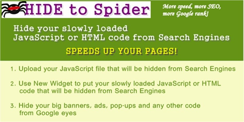Hide To Spider WordPress plugin