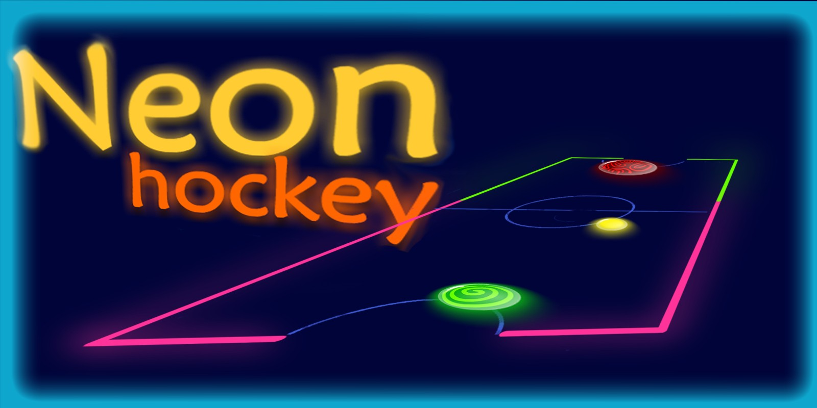 Neon Air Hockey - Unity Project
