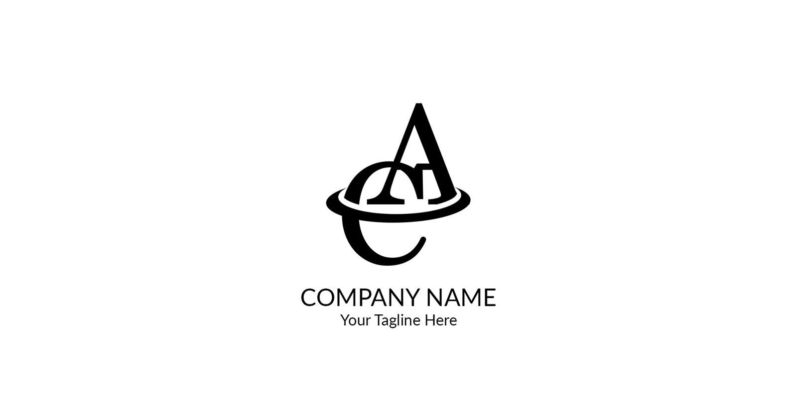 Letter AC Logo
