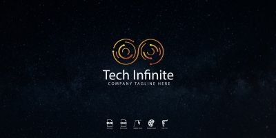 Tech infinite Logo