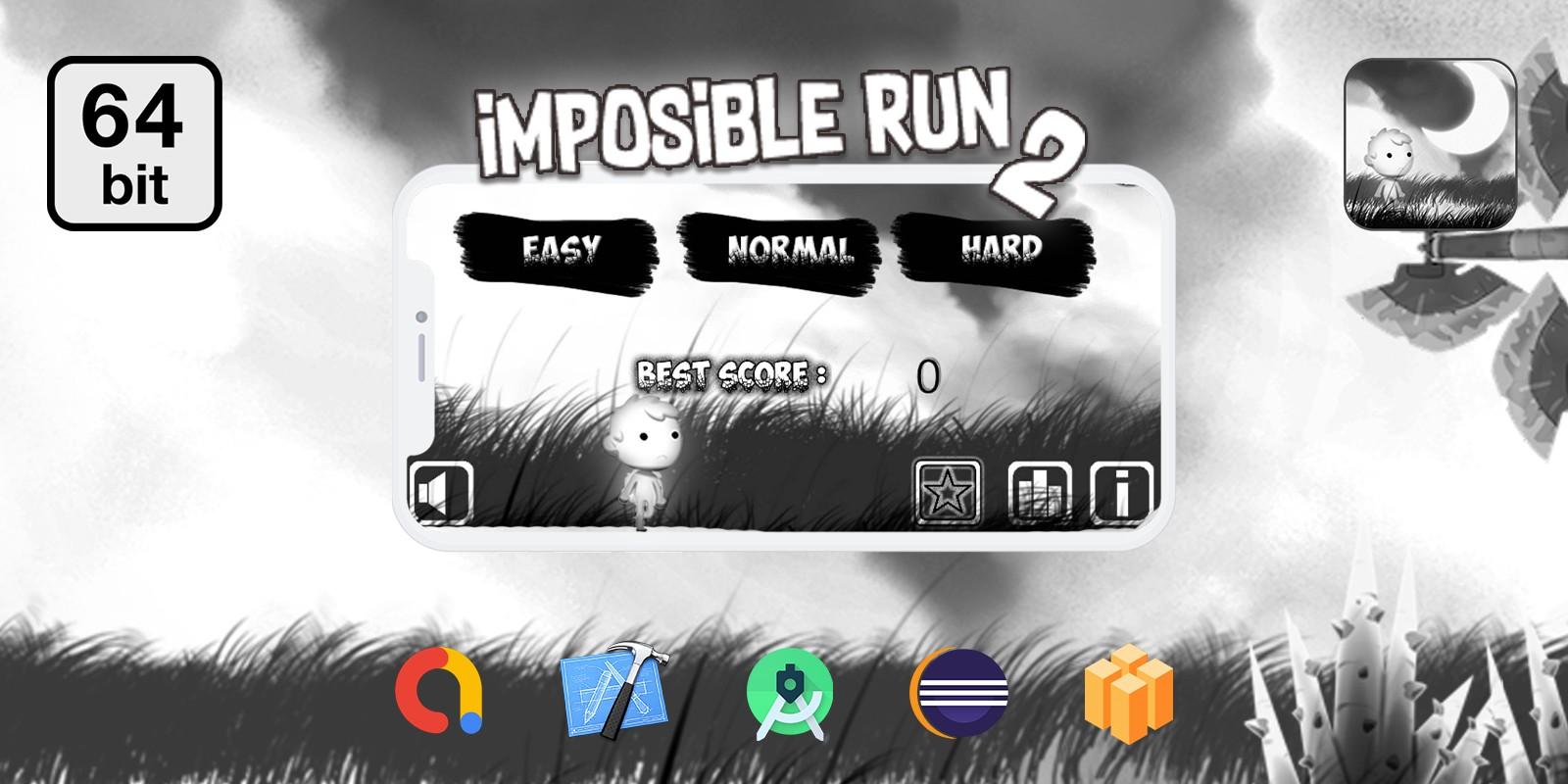 Imposible Run 2 - Buildbox Template