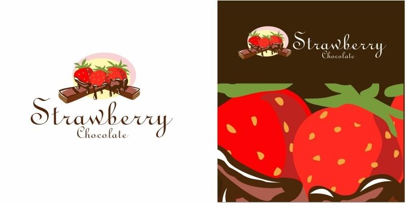 Strawberry Chocolate Logo