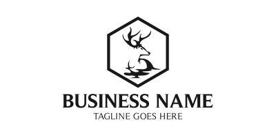 Deer Frame Logo