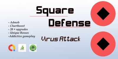 Square Defense - Android Source Code