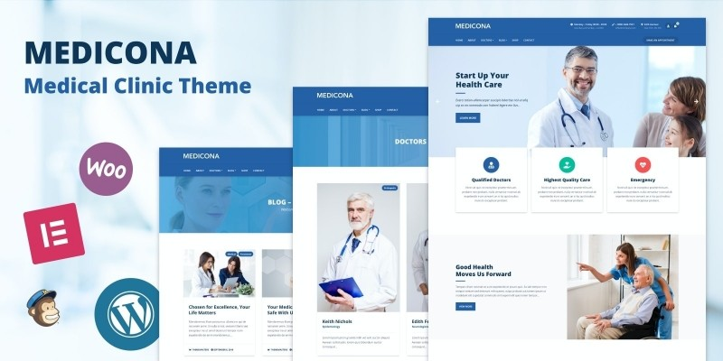 Medicona - WordPress Medical Clinic Theme