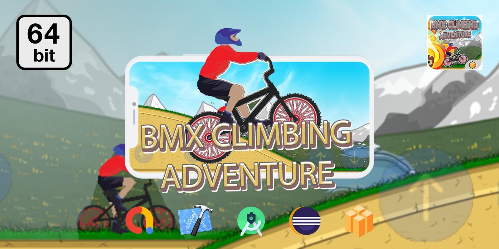 BMX Climbing Adventure  - Buildbox Template