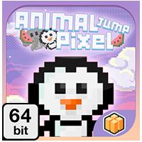 Animal Jump Pixel 64 bit - Buildbox Template