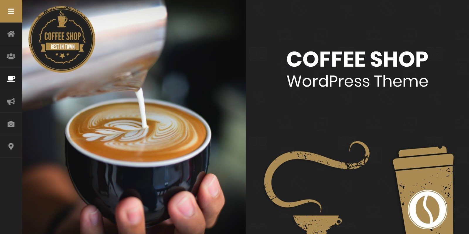 Coffee Shop - WordPress Theme